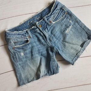 American Eagle | Mid Rise Lace Accent Shorts 2